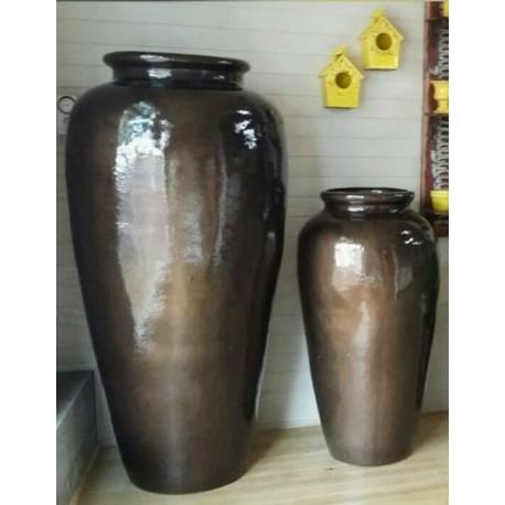 Vaso Pote G 154 Alt x 48 Diam x 42 B em Fibra de Vidro