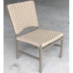 Cadeira  Ametista em Corda  Náutica