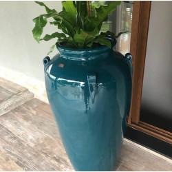 Vaso Pote M com Alça  - 108 Alt x 38 Diam x 34 B em Fibra de Vidro