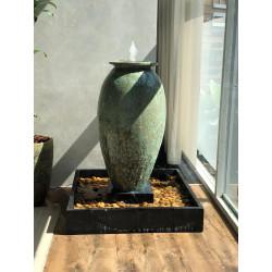 Vaso Vietnamita Fonte Vulcano G - Diam 60 x Alt 117