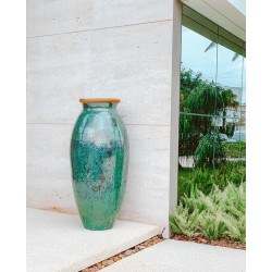 Vaso Vietnamita Vulcano G - Diam 60 x Alt 117