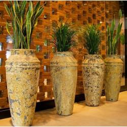 Vaso Vietnamita Afrodite - Diam 39 x Alt 86