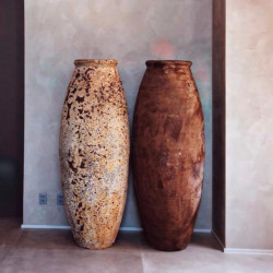 Vaso Vietnamita Zeus - Diam 63  x  Alt 172