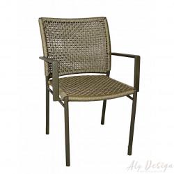 Cadeira Duna com Braço em Corda Náutica