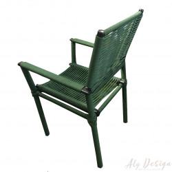 Cadeira Milano com Braço em Corda