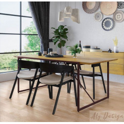 Conjunto Mesa Paris e Cadeiras Turim