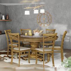 Conjunto Mesa Búzios e Cadeiras Campeche