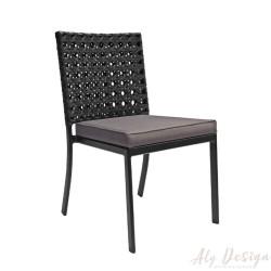 Cadeira Diamante com Estofado em Fibra