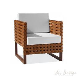 Poltrona Marrocos Diva Fibra - Design Studio MA