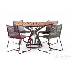 Conjunto Mesa Doha e Cadeiras - Design Studio MA