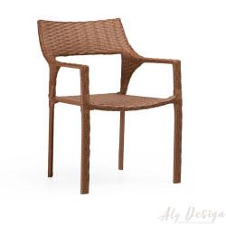 Cadeira Jade em  Fibra Sintética