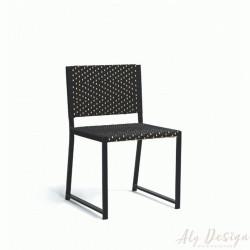 Cadeira Palermo sem Braço Fibra Sintética - Design Camila Forbeck