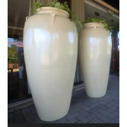 Vaso Pote G com Alça - 154 Alt x 48 Diam x 42 B em Fibra de Vidro