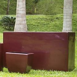 Jardineira Alta 60 x 100 x 50 em Fibra de Vidro